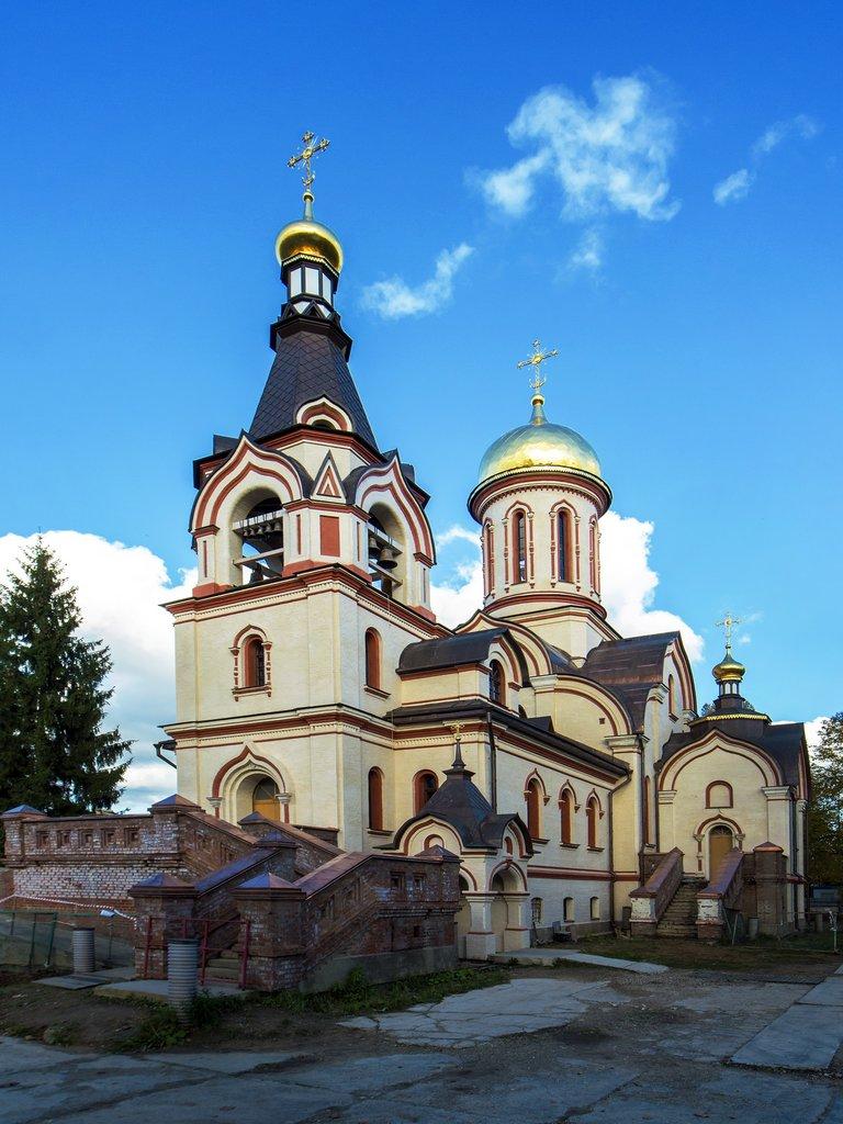 Серафимовский храм г. Голицыно